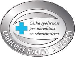 Certifikát - Kvalita a bezpečí